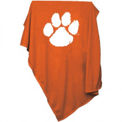 Clemson University 137.2cm x 213.4cm Sweatshirt Throw Blanket 123-74