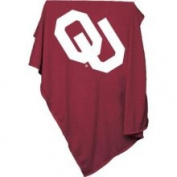 Oklahoma Sooners 213.4cm x 137.2cm Sweatshirt Blanket / Throw