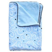 Caden Lane Luxe Collection Swirl Piped Blanket