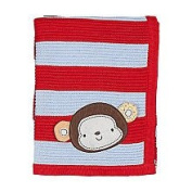 Living Textiles Baby Character Crinkle Blanket - Coco Monkey