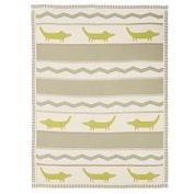 Living Textiles Lolli Living Blanket - Alligator