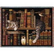 Pure Country Weavers 801-T Frederick The Literate Throw