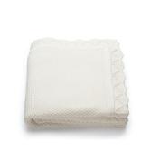 Stokke Sleepi Knitted Blanket in Classic White
