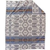 Pendleton Heritage Silver Bark Wool Blanket - Ivory