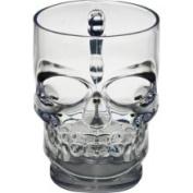 Forum Novelties Clear Skull Mug Clear