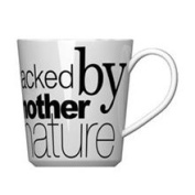 Curtis Stone 470ml Packed by Mother Nature Coffee Mug, White