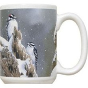 Fiddlers Elbow FEC650 Downy Woodpecker 440ml Mug