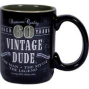 Laid Back 60th Birthday Mug Vintage Dude