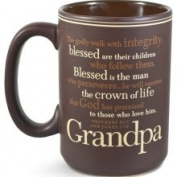 Grandpa, You Inspire Me Mug with Scripture Cards