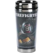 Firefighter Travel Mug Dicksons SSMUG-17 Christian
