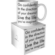 Quotable Cards Quotable Go Confidently Mug