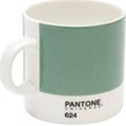 Pantone 624 Bone China Espresso Mug, Basil
