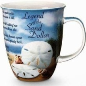 Cape Shore Coastal Beach Legend Sand Dollar Coffee Latte Mug