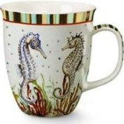 Cape Shore Seahorse Couple Partners Coffee Latte Tea Mug