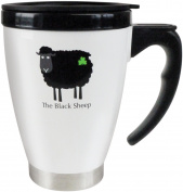 Dublin Gifts Black Sheep Travel Mug