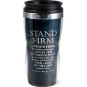 Stand Firm Acrylic and Stainless Steel Tumbler Mug
