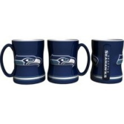 Seattle Seahawks 440ml Sculpted Relief Mug Boelter