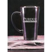 Purdue Boilermakers 470ml Deep Etched Black Ceramic Java Mug Campus Crystal