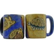 Mara Stoneware Round Mug 470ml - Turtles