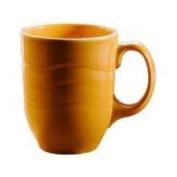 Syracuse Cantina Saffron Carved 300ml Mug