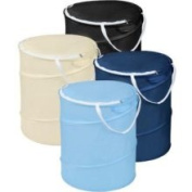 Kennedy Home Collections Mini Cylinder Hamper - Colour May Vary