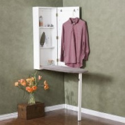 Wall-Mounted Ironing Board and Storage Centre