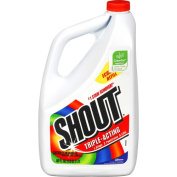 Shout Laundry Stain Remover, Triple-Acting - 1770ml (0.9l 830ml) 1.7 lt