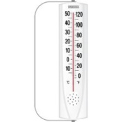 TAYLOR PRECISION PRODUCTS 2-Way Indoor/Outdoor Window Thermometer
