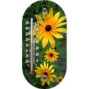 Taylor 91565 Fade Resistant Flower Thermometer 10.2cm