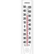Taylor 90111-000-000 38cm x 7.6cm Outdoor Tube Thermometer, White