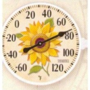 15.2cm Sunflower Outdoor Thermometer
