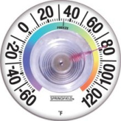 Taylor 91903 8.9cm Suction Cup Thermometer