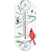Aspects Goldfinch Pair Window Thermometer
