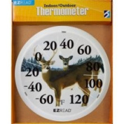 Headwind Consumer Products 840-66cm . Dial Thermometer with W Deer