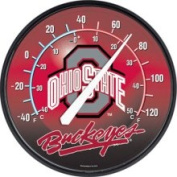 Ohio State Buckeyes Logo Indoor Outdoor Thermometer