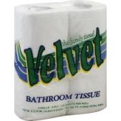 Velvet Bathroom Tissue, 2-Ply - 4 rolls