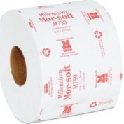Morcon Paper Mor M750 White 2 Ply Toilet Tissue Roll
