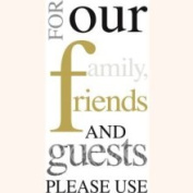 Please Use Gold Guest Towels 192 CT