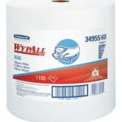 Wypall 34955 X60 Wipers On Jumbo Roll 12.5 Length x 13.4 Width White Roll of 1100