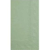 Hoffmaster 020549 2 Ply 15 x 17 Soft Sage Napkins 1000 CT