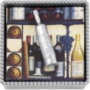 Mariposa Beaded Napkin Box with Wine Weight 2660-C