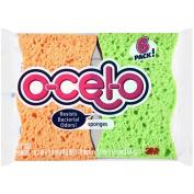 O-Cel-O Sponges, Handy Size - 6 sponges