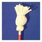 Chickasaw & Little Rock #18B 61cm Blended Yarn Toy Mop, Red