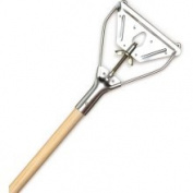 Cequent Laitner Company 495 150cm . Wood Mop Handle With Quick Change Hardware