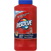 Resolve Carpet Cleaner, Large Area, Pet Deep Clean Powder - 530ml (1 lb 60ml) 510 g