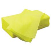 Masslinn Dust Cloths, 22 x 24, Yellow, 150/Carton