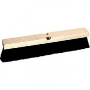Weiler 804-42008 24 Inch Medium Sweep Floor Brush Black Tampi