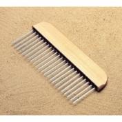 Kraft Tool CC201 30.5cm Flat Wire Texture Hand Broom 1.3cm Spacing