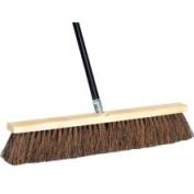 DQB Industries 45.7cm Palmyra Push Broom with 152.4cm Wood Handle - 09981