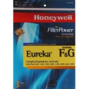 Honeywell H24126 Vacuum Bags for Select Eureka Uprights